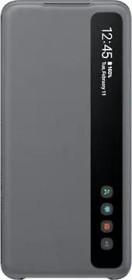 Samsung Smart Clear View Cover für Galaxy S20 grau (EF-ZG980CJEGEU)