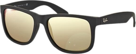 d8c1c321c96c2 Ray-Ban RB4165 Justin Classic 54mm black light brown-mirror gold (622