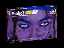 3dfx Voodoo3 2000 16MB AGP retail