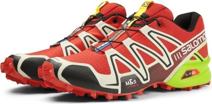 Salomon Speedcross 3 radiant red light grey granny green (Herren) (381532 71a9c483e8a
