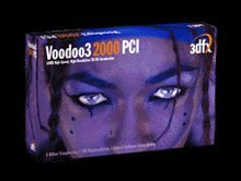 3dfx Voodoo3 2000 16MB PCI retail