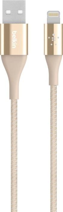 Belkin MIXIT Duratek USB-A/Lightning Adapterkabel 1.2m gold (F8J207bt04-GLD)