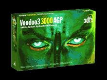 3dfx Voodoo3 3000 16MB AGP retail
