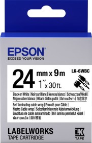 Epson LK-6WBC/LC-6WBC9 Beschriftungsband Cable Wrap 24mm (C53S656901/C53S627404)