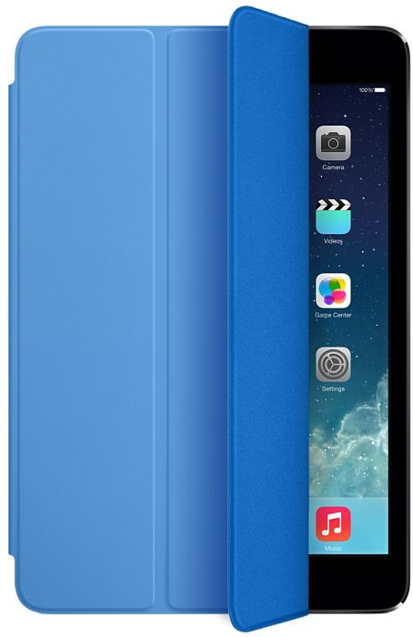 apple ipad air smart cover blau mf054zm a preisvergleich. Black Bedroom Furniture Sets. Home Design Ideas
