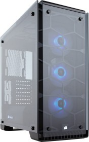 Corsair Crystal Series 570X RGB schwarz, Glasfenster (CC-9011098-WW)