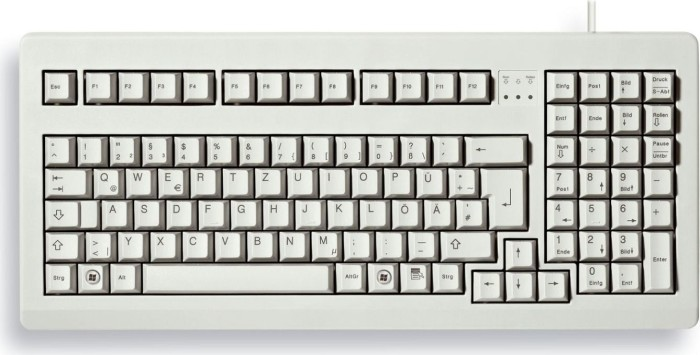 Cherry G80-1800LPCDE-0, PS/2 & USB, DE