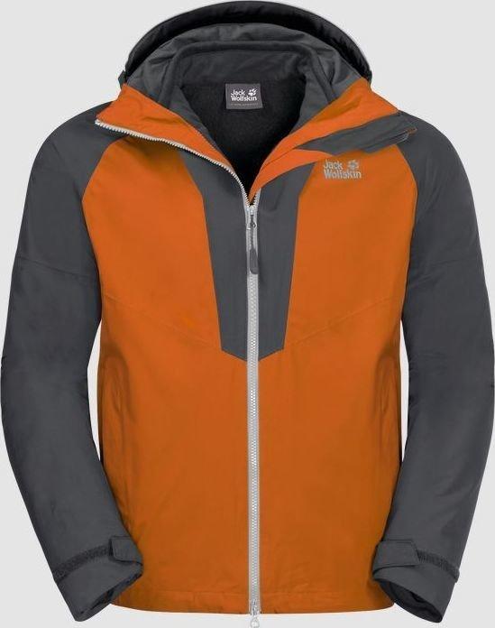 on sale 602c9 d2870 Jack Wolfskin Apex Peak Jacke desert orange (Herren) (1110681-3062)