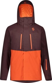 Scott Ultimate DRX Skijacke red fudge/orange pumpkin (Herren) (277695-6637)