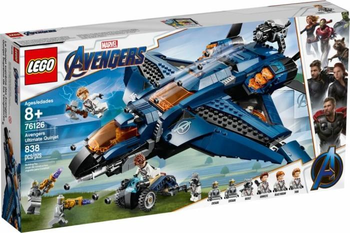 LEGO Marvel Super Heroes Spielset - Ultimativer Avengers-Quinjet (76126)