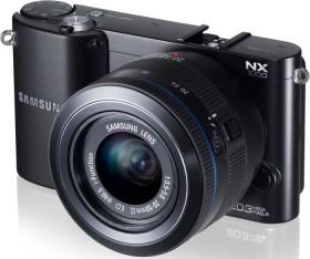 Samsung NX1000 schwarz mit Objektiv 16mm i-Function und 20-50mm i-Function