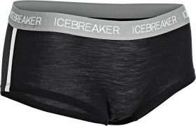 Icebreaker Sprite Hotpants schwarz (Damen)