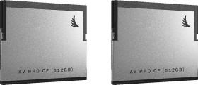Angelbird R550/W490 CFast 2.0 CompactFlash Card [CFAST2.0] AV PRO 512GB, 2er-Pack (AVP512CFX2)