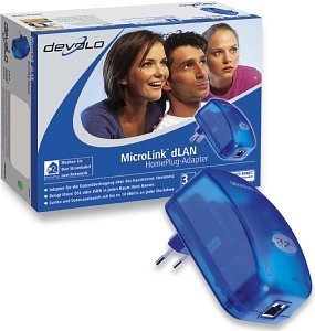 devolo MicroLink dLAN Ethernet adapter (01998)