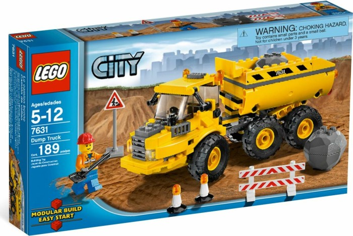 LEGO - City Construction - Dump Truck  (7631) -- via Amazon Partnerprogramm