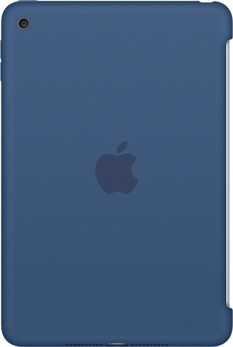 Apple iPad mini 4 Silikon Case Ozeanblau (MN2N2ZM/A)