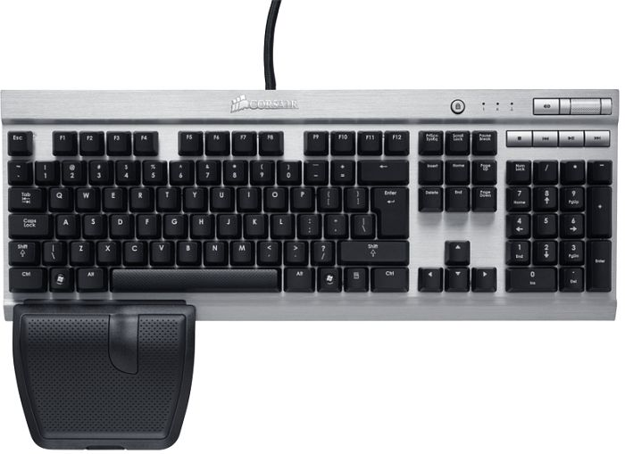 Corsair Vengeance K60 Mechanical Gaming Keyboard, USB, DE (CH-9000004-DE)