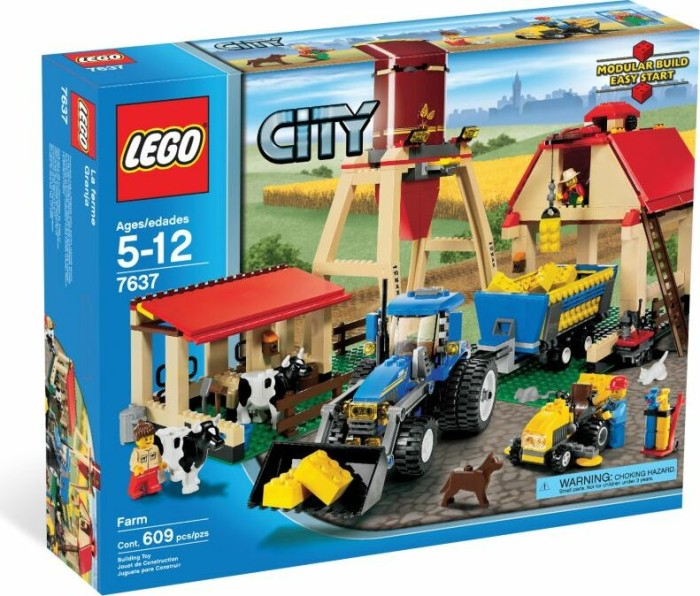 LEGO - City Farm - Farm (7637) -- via Amazon Partnerprogramm
