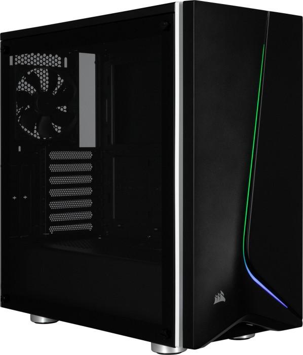 Corsair Carbide Series SPEC-06 RGB schwarz, Glasfenster (CC-9011146-WW)