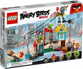 LEGO Angry Birds - Pig City Teardown (75824)