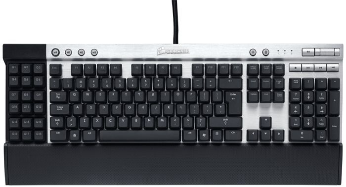 Corsair Vengeance K90 Mechanical Gaming Keyboard, USB, DE (CH-9000003-DE)