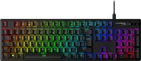 Kingston HyperX Alloy Origins, LEDs RGB, HyperX RED, USB, UK (HX-KB6RDX-UK)