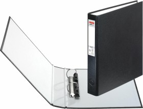 Herlitz maX.file protect Ringhefter A5, 25mm, schwarz (5365135)
