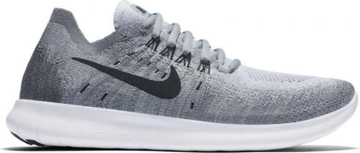 new product e8364 c7b40 Nike Free RN Flyknit white pure platinum black (ladies) (831070-
