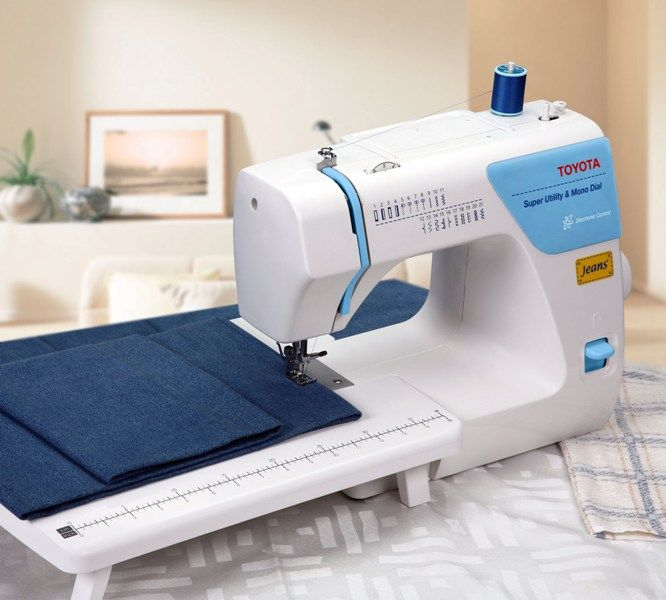 Toyota JSA21 jeans Sewing Machine