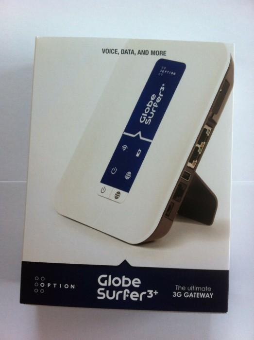 Option Globesurfer III Router -- via Amazon Partnerprogramm