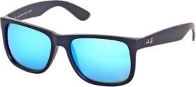 Ray-Ban RB4165 Justin Classic 54mm schwarz/green mirror-blue (622/55)
