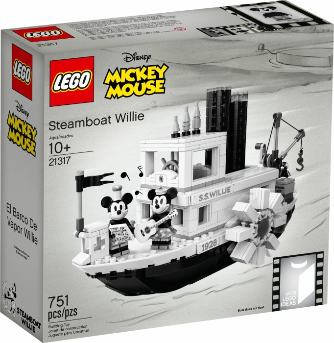 Lego Ideas Steamboat Willie Ab 8990 2019 Preisvergleich