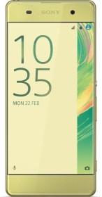 Sony Xperia XA Dual-SIM lime gold