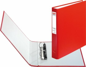 Herlitz maX.file protect Ringhefter A5, 25mm, rot (5365036)