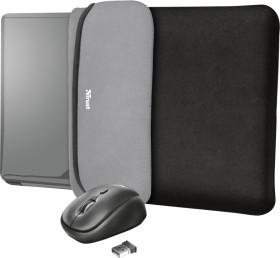 """Trust Yvo Wireless Mouse Set mit Wendehülle für 15.6"""" Laptops, schwarz, USB (23449)"""