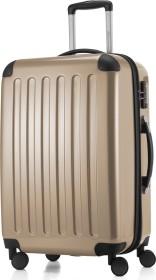 Hauptstadtkoffer Alex TSA Spinner erweiterbar 65cm champagner glänzend (82780026)