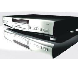 Mustek DVD-V560 silber