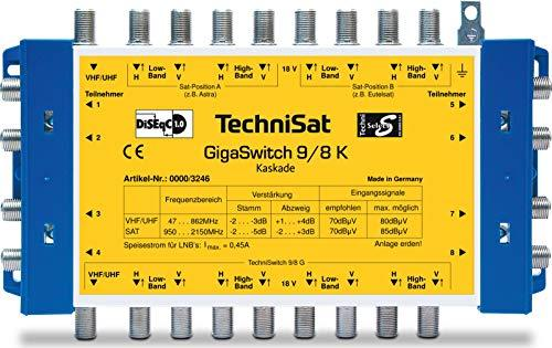 TechniSat GigaSwitch 9/8 (0000/3246) -- via Amazon Partnerprogramm