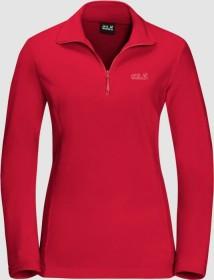 Jack Wolfskin Gecko Shirt langarm clear red (Damen) (1703771-2122)