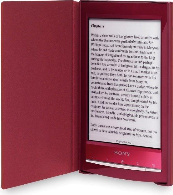 Sony PRSA-SC10R Einband rot