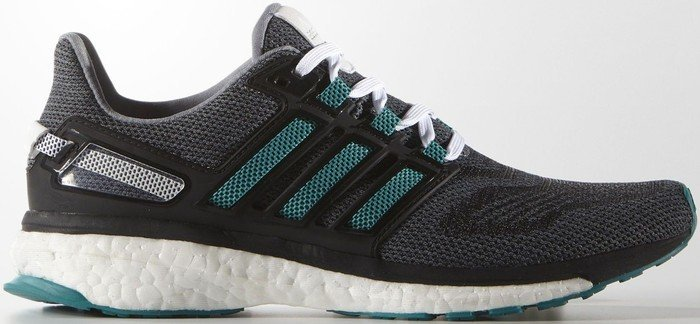 17b1c57cdc62 adidas Energy Boost 3 grey eqt green core black (ladies) (AF4934 ...