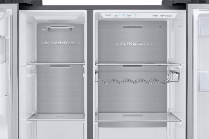 Side By Side Kühlschrank Elektra Bregenz : Samsung rs n sl side by side ab u ac