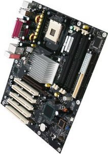 Intel D875PBZ, i875P (dual PC-3200 DDR)