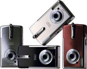 Canon cyfrowy Ixus i czarny (różne zestawy)