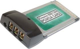 Digitus DC 1394-PCMCIA, 3x FireWire, Cardbus