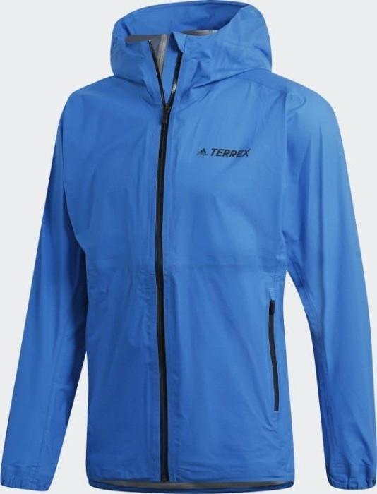 adidas Männer Terrex Agravic Three Layer Jacke shock blue