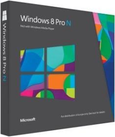 Microsoft Windows 8 Pro N, DSP/SB, Update, ESD (deutsch) (PC)