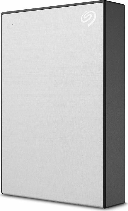 Seagate Backup Plus slim portable [STHP] silver 5TB, USB 3.0 micro-B (STHP5000401)