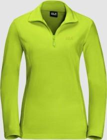 Jack Wolfskin Gecko Shirt langarm bright lime (Damen) (1703771-4122)