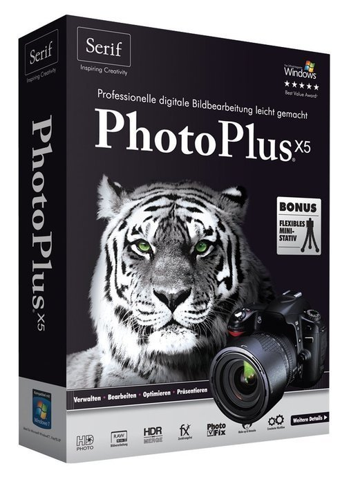 Serif: PhotoPlus X5 (deutsch) (PC) (SE-11151) -- ©Avanquest